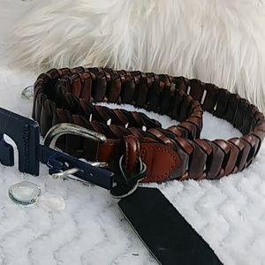 Crookhorn Davis Italian braided belt
